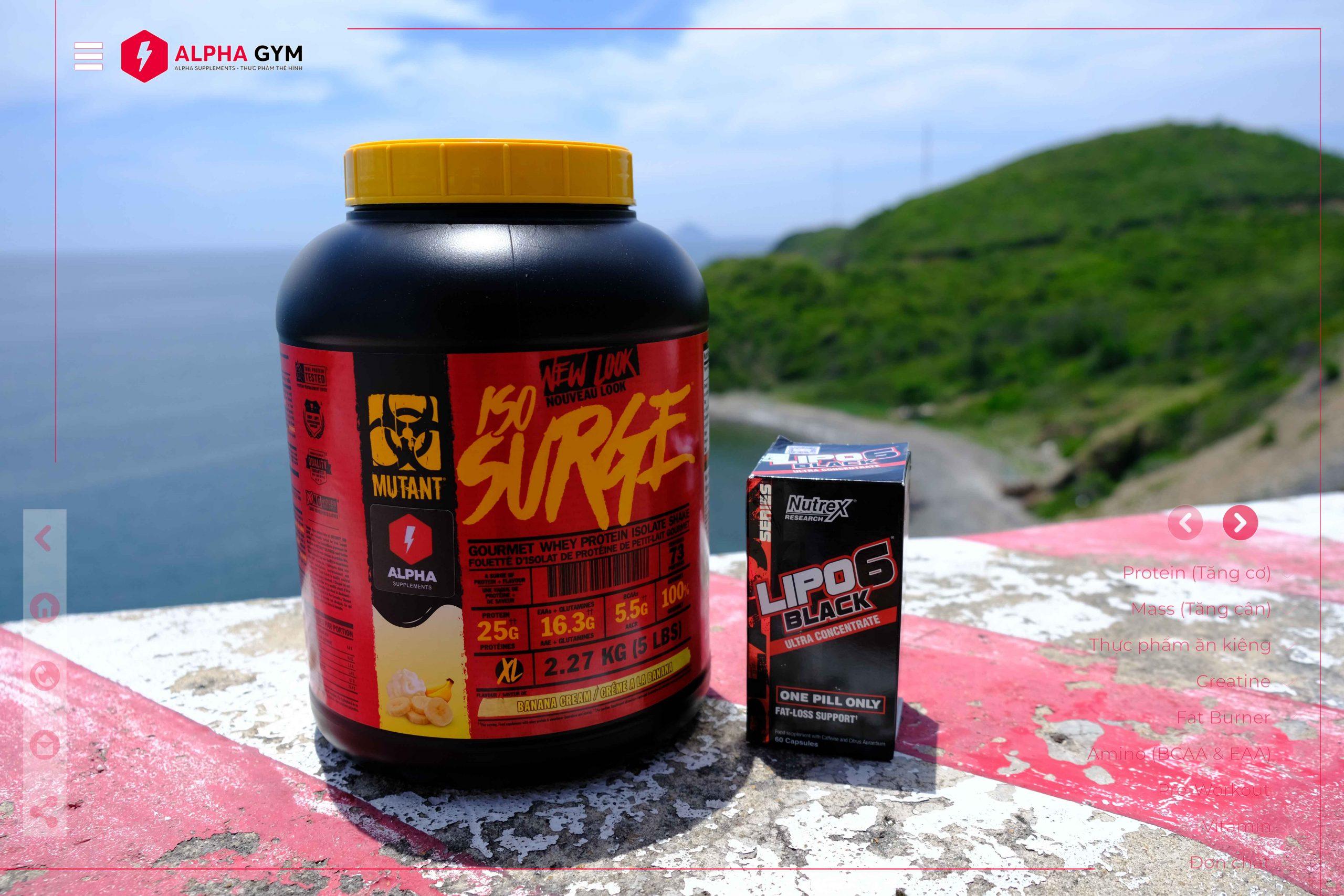 Mutant ISO Surge 5 Lbs (76 Servings)- Thực phẩm thể hình Nha Trang