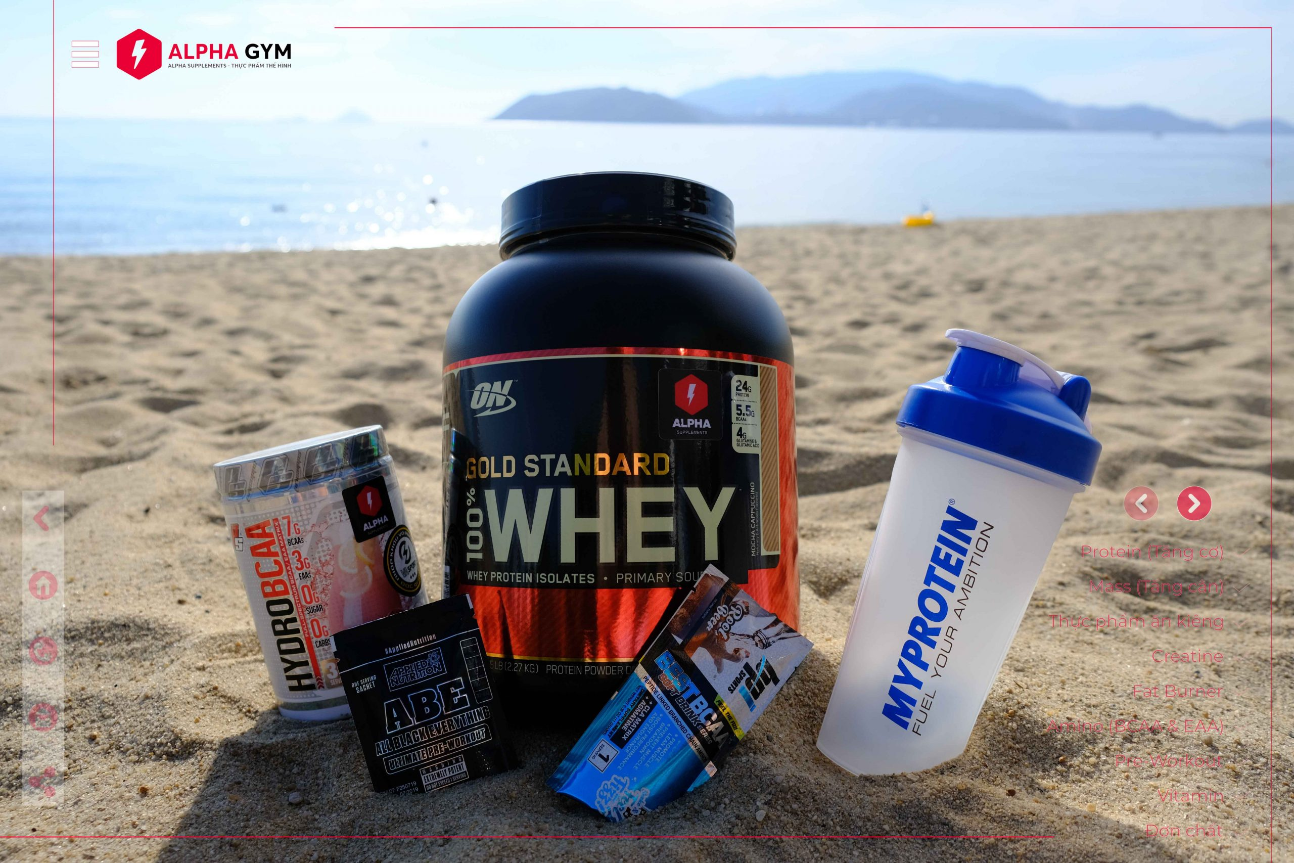 ON Gold Standard 100% Whey Protein, 5 Lbs (68 Servings) - Thực phẩm thể hình Nha Trang