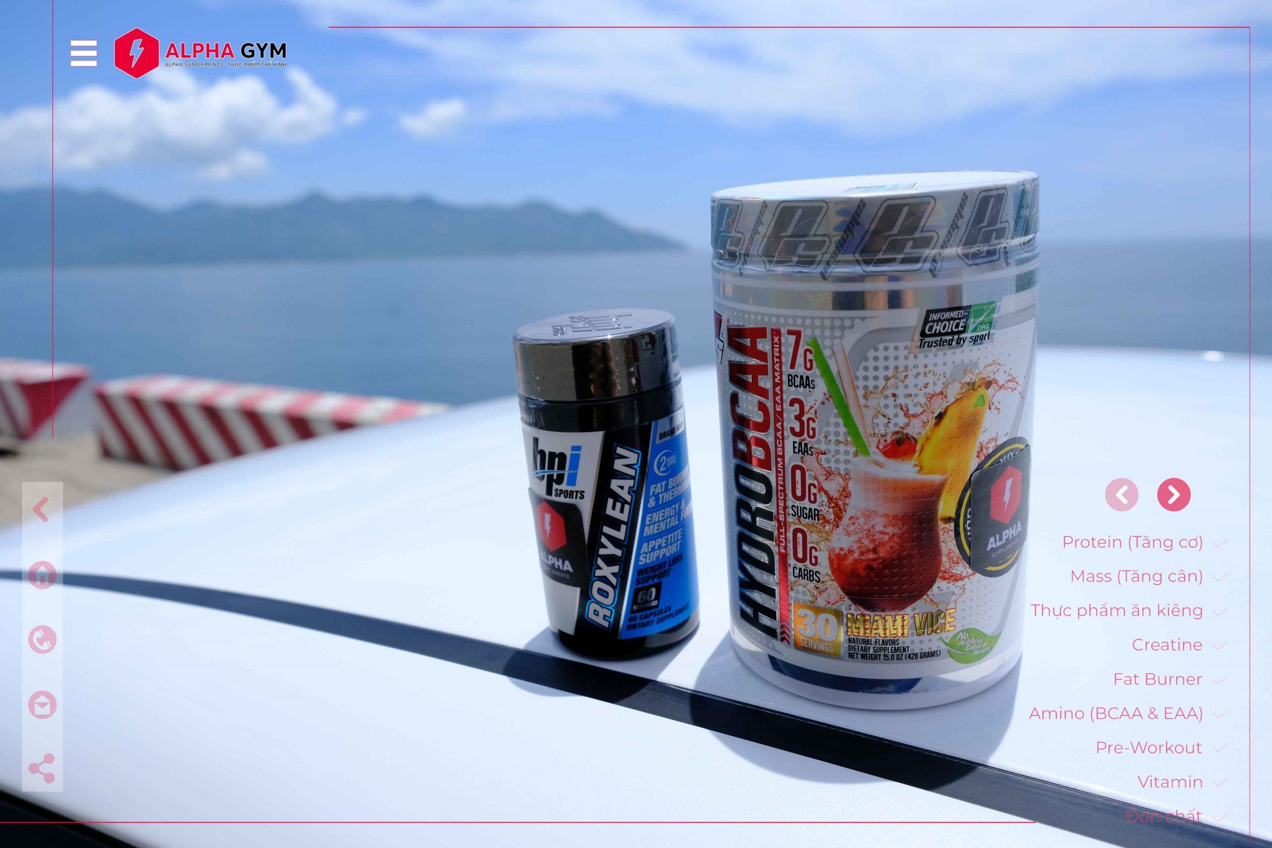 BPI Sports Roxy Lean (60 tablets) - Thực phẩm thể hình Nha Trang