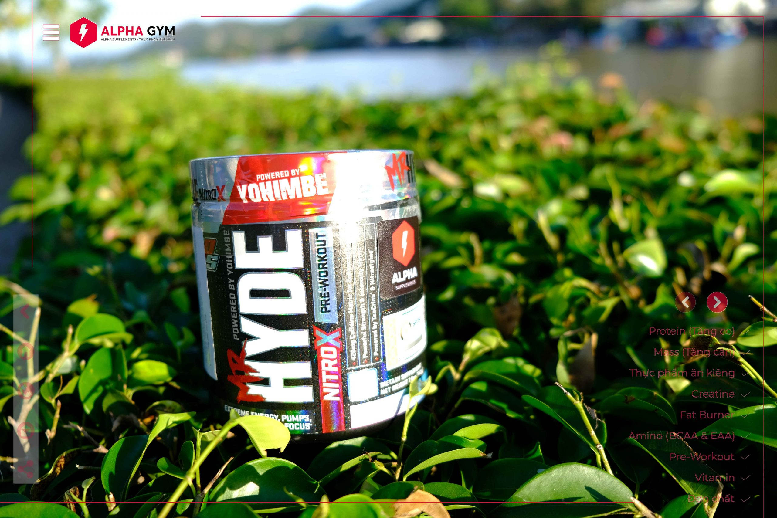 Prosupps Mr.Hyde NitroX (30 servings) - Thực phẩm thể hình Nha Trang