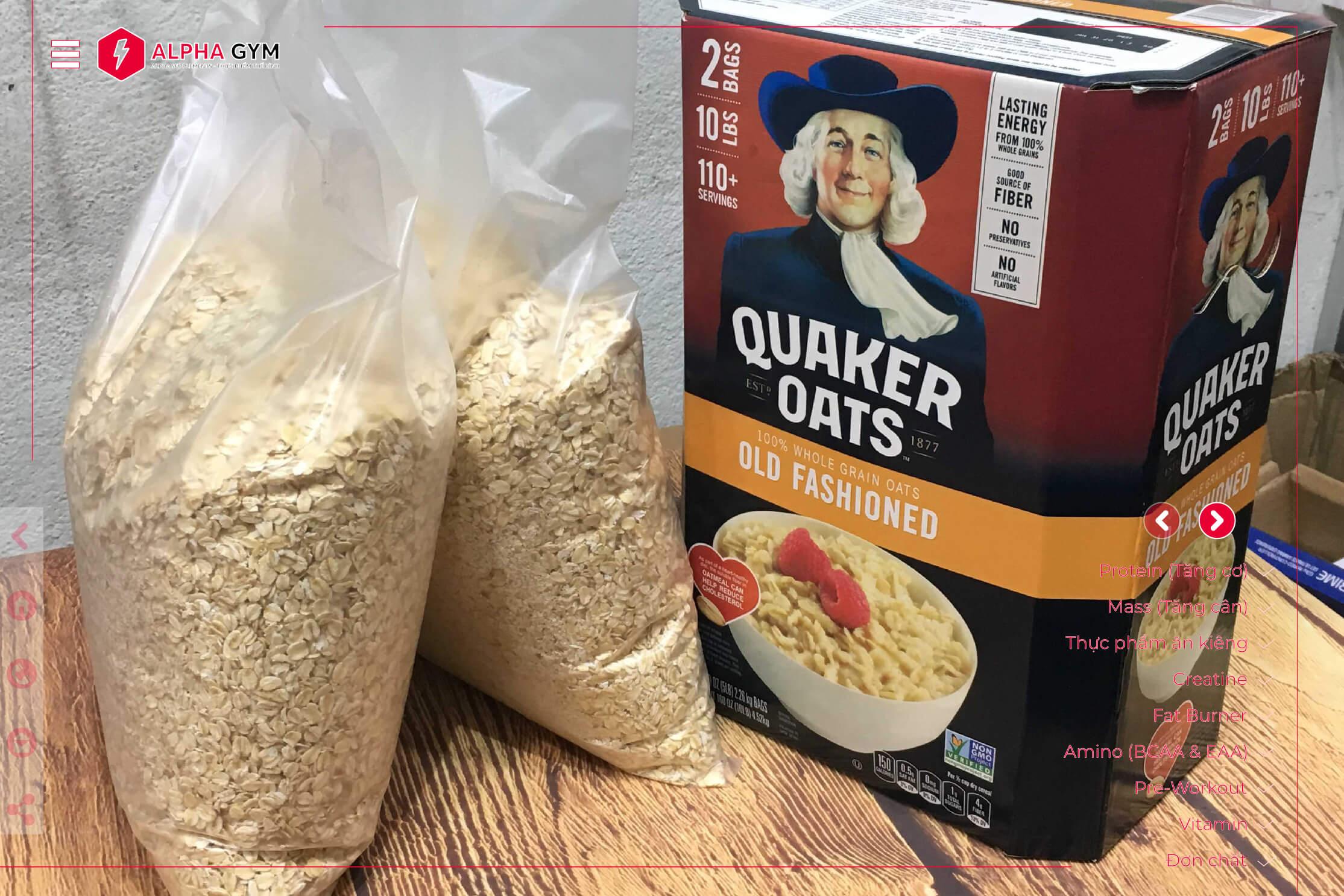 Quaker-Oats-100%-Whole-Grains-Oats-10-LBS-thuc-pham-the-hinh-nha-trang