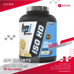 BPI ISO HD 100% Pure Isolate Protein 5lbs (70 Servings)