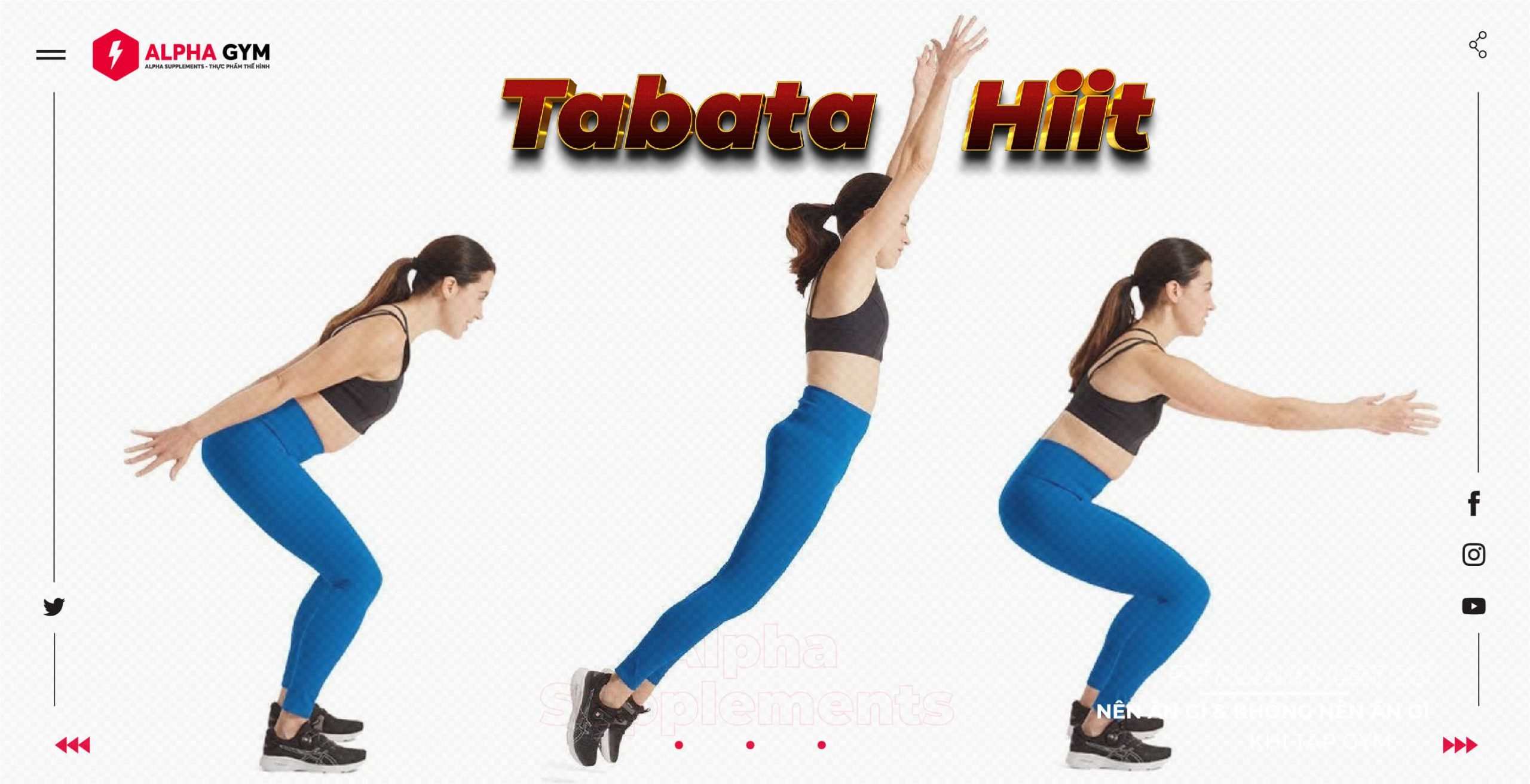 Tabata và Hiit là gì và bạn đang tập Tabata hay Hiit